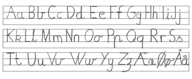 Alfabet stavskrift